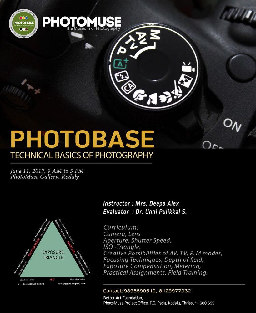 Photobase – Basic Level Workshop – Photomuse