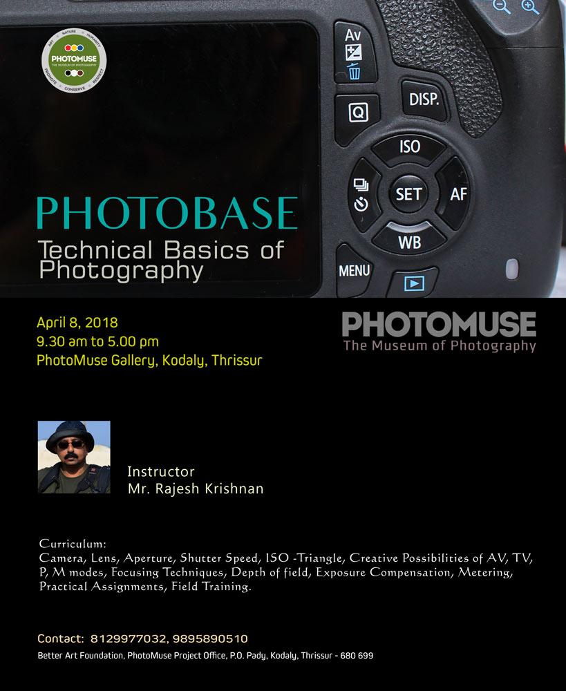 Workshop On Technical Basics Of Photography